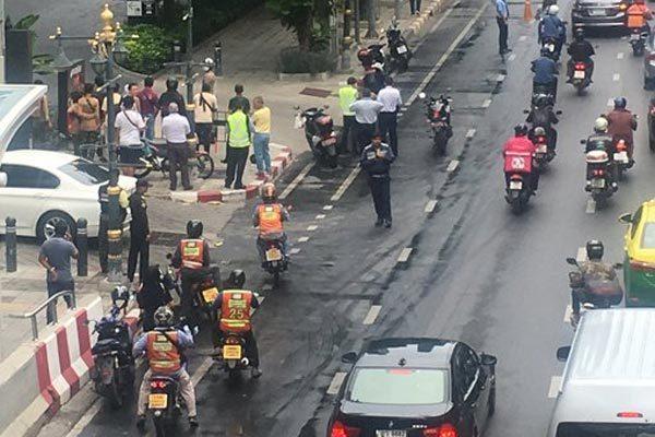 Hàng loạt vụ nổ liên tiếp rung chuyển Bangkok
