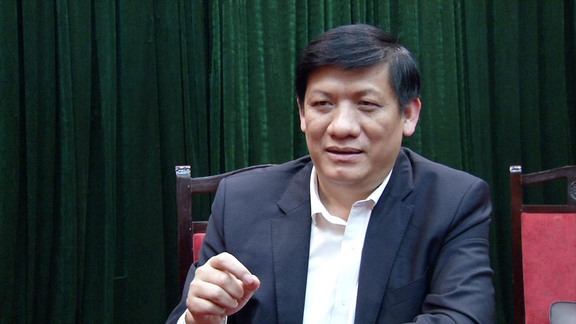 """Thứ trưởng Nguyễn Thanh Long: """"Mong người dân hợp tác để ngăn chặn dịch sớm nhất'"""