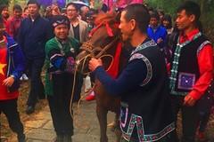 Wedding rituals of the Bo Y