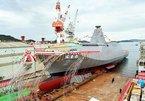 Xem hạ thủy tàu hộ vệ đa năng thế hệ mới của Nhật