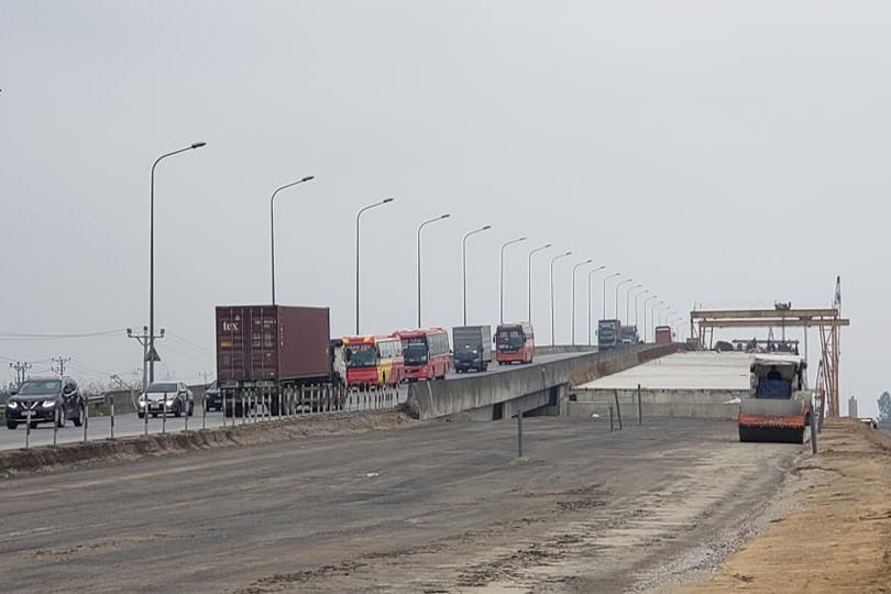 Sắp hoàn thành 8km dự án cao tốc Bắc Nam Cao Bồ - Mai Sơn