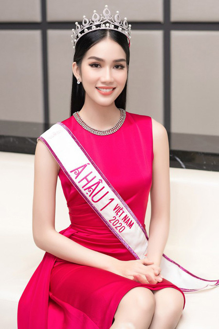 First runner-up of Miss Vietnam 2020 to compete in Miss International 2021