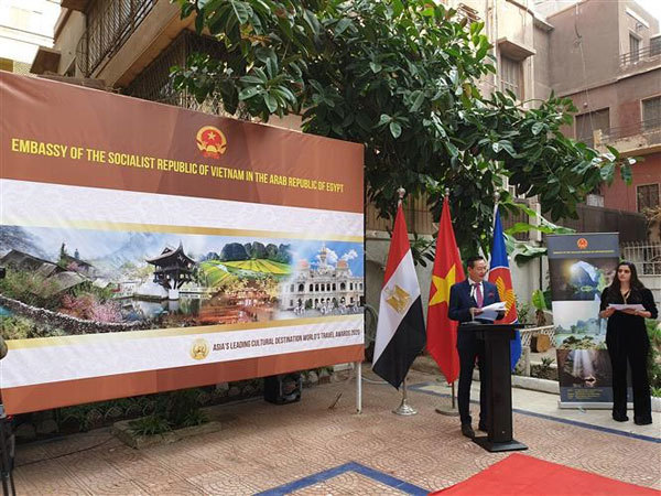 Art exhibition bridges Vietnam and Egypt