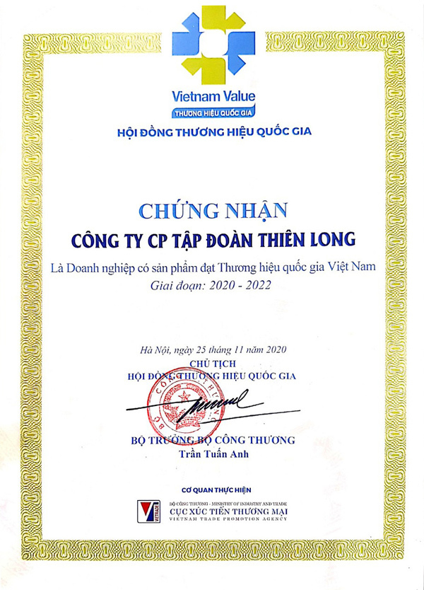 Thien Long wins Vietnam Value award for the third time in a row