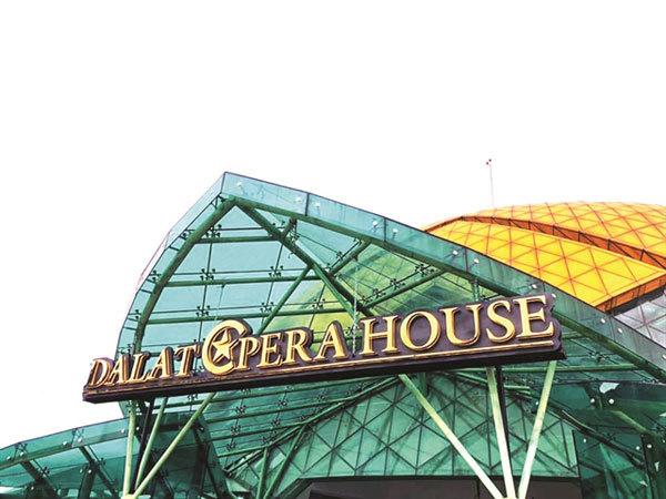 DaLat's first opera houseopens