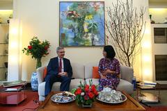 Đại sứ Pháp: Ngày Tết đi bộ ngắm Hà Nội rất tuyệt