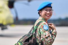 Hành trình trở thành lính 'mũ nồi xanh' của cô gái 25 tuổi