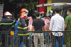 Một thai phụ tử vong trong vụ cháy trên phố Tôn Đức Thắng