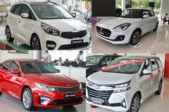 """10 xe ế ẩm nhất tháng 3: Toyota tiếp tục """"chiếm sóng"""""""