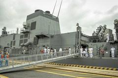 Tàu hộ vệ Nhật Bản thăm thành phố Hải Phòng