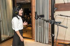 Phương Thanh làm album mới trong phòng thu triệu đô