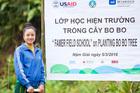 Mỹ tài trợ hơn 30 triệu USD để Việt Nam trồng rừng