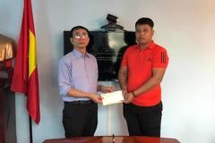 Trao gần 40 triệu đồng đến bé Nguyễn Duy Đức bị tim bẩm sinh
