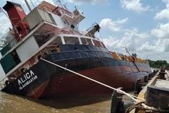 Tàu nước ngoài gặp nạn ở Tân cảng Hiệp Phước: Cấm giao thông đường thủy
