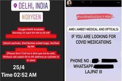 Những tin nhắn quyết định sống - chết giữa 'sóng thần' Covid-19 ở Ấn Độ