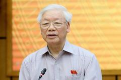Tổng Bí thư Nguyễn Phú Trọng ứng cử ĐBQH tại quận Ba Đình, Đống Đa, Hai Bà Trưng