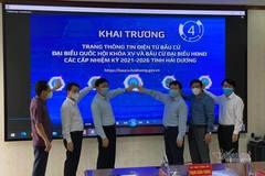 Hải Dương khai trương Trang thông tin điện tử phục vụ bầu cử để phòng dịch
