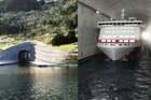 Na Uy xây đường hầm xuyên núi cho du thuyền khổng lồ đầu tiên trên thế giới