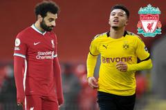 Liverpool mua Jadon Sancho thay Salah