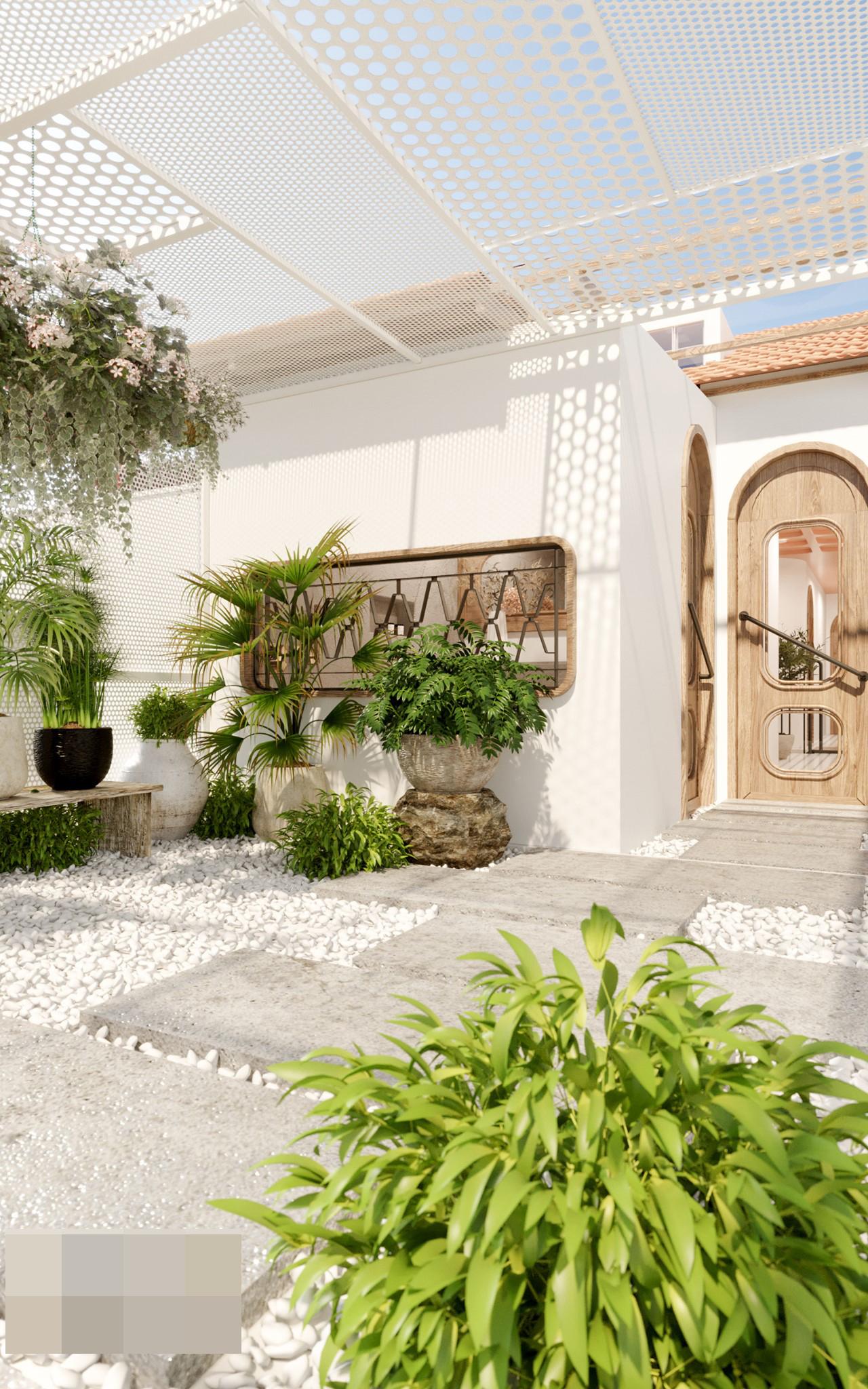 Ngôi nhà như thiên đường nghỉ dưỡng giữa thành phố