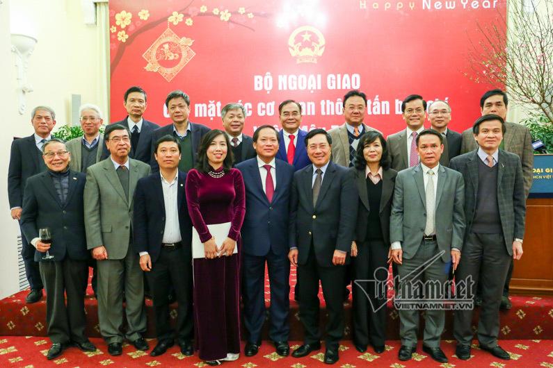 Phó Thủ tướng, Bộ trưởng Ngoại giao, Phạm Bình Minh, Bộ trưởng Thông tin truyền thông, Trương Minh Tuấn