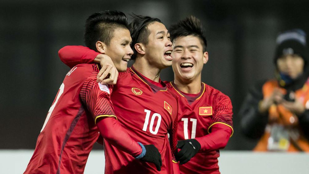 U23 Việt Nam, Quang Hải, Xuân Trường, Công Phượng, U23 châu Á