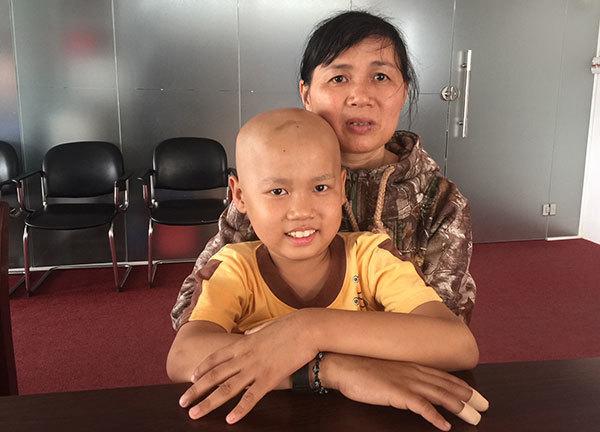 ung thư, u não, hoàn cảnh khó khăn, bệnh hiểm nghèo