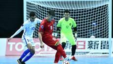 Kết quả của ĐT futsal Việt Nam tại giải Futsal châu Á 2018