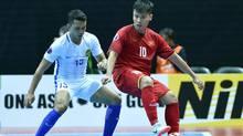 ĐT futsal Việt Nam thua đáng tiếc trận ra quân giải châu Á