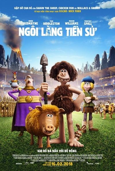 Ngôi làng tiền sử, phim chiếu rạp, phim hoạt hình