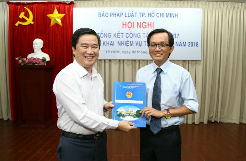 Ông Nguyễn Đức Hiển làm Phó tổng biên tập báo Pháp Luật TP.HCM