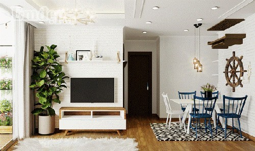 nhà đẹp, trang trí nhà, kiến trúc căn hộ cao tầng