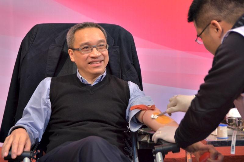 """Bộ TT&TT hiến máu tình nguyệnvới """"Trái tim thiện tâm"""""""