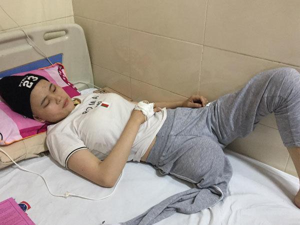hoàn cảnh khó khăn, bệnh hiểm nghèo, ung thư xương, ung thư, từ thiện vietnamnet