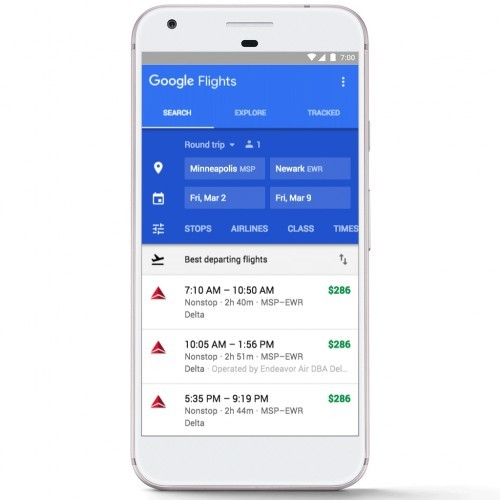 """Google ra mắt công cụ dự đoán """"Delay Airlines"""""""