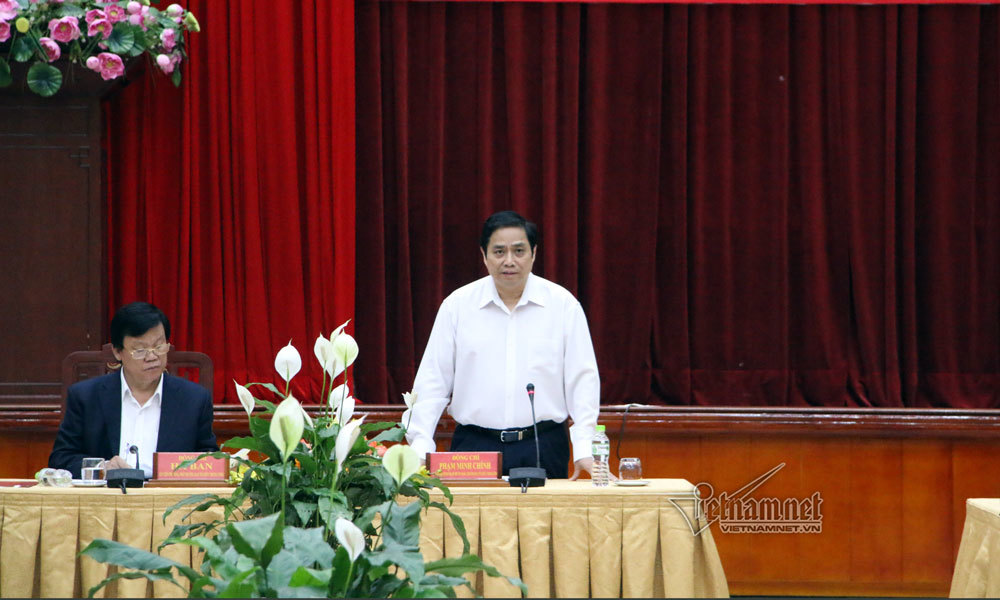 Ông Phạm Minh Chính: 'Chúng ta đang có vấn đề trong kiểm soát quyền lực'