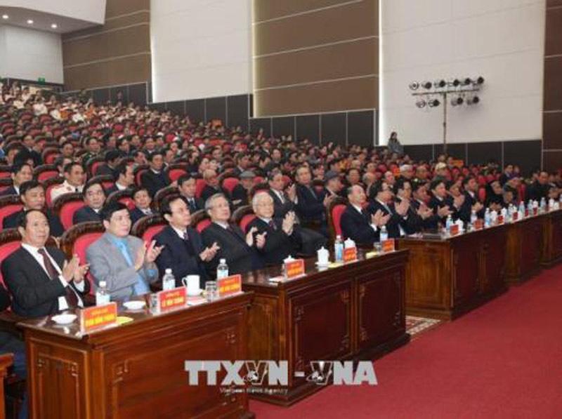Tổng bí thư dự lễ kỷ niệm 110 năm ngày sinh đồng chí Nguyễn Đức Cảnh