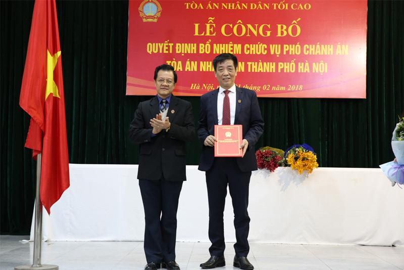 Bổ nhiệm nhân sự Hà Nội, Bắc Giang, Bắc Kạn, Bến Tre