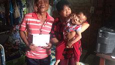 Niềm vui lấp lánh đến với gia đình anh Nguyễn Văn Tùng ngày cuối năm0