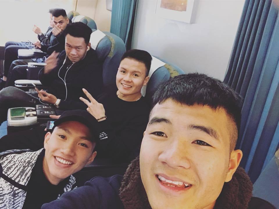 Quang Hải, Hà Đức Chinh, Văn Thanh, Duy Mạnh,U23 Việt Nam