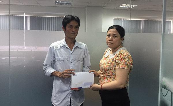 Hơn 11 triệu đồng trao cho bé Lữ Phú Lộc