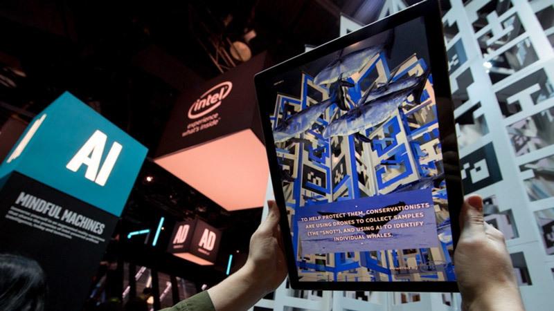 Intel, kính thông minh, công nghệ AR