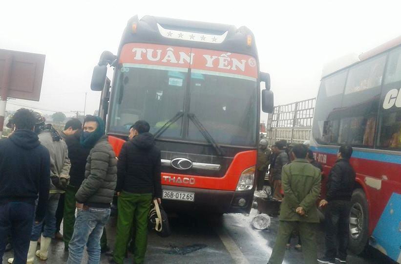 cháy xe khách, tai nạn, Thanh Hóa