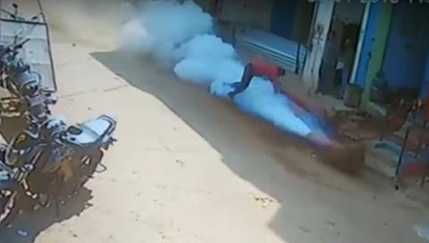 nổ khí nén