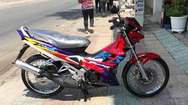 'Phát sốt' xe máy Honda 'đắp chiếu' 16 năm giá trăm triệu đồng ở Bình Dương