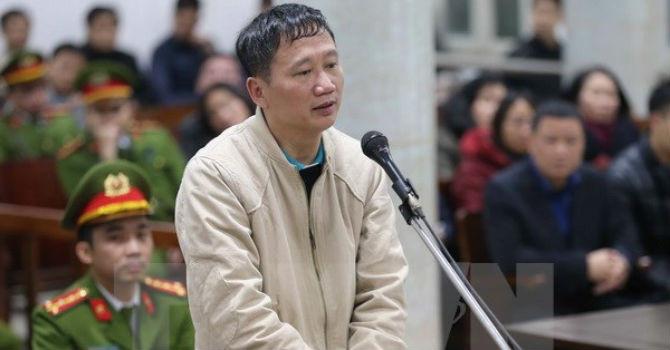 Trịnh Xuân Thanh, xét xử Trịnh Xuân Thanh, PVC, PVP land, tham ô, tham nhũng
