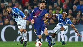 Espanyol vs Barca: Nghẹt thở derby Barcelona