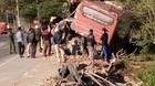 Xe khách tông xe tải, 1 người chết, 4 người trọng thương