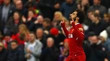Salah lập cú đúp, Liverpool chia điểm siêu kịch tính với Tottenham