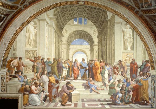 'Trường học Athens': Hoà hợp và trân trọng giữa các trí tuệ lớn